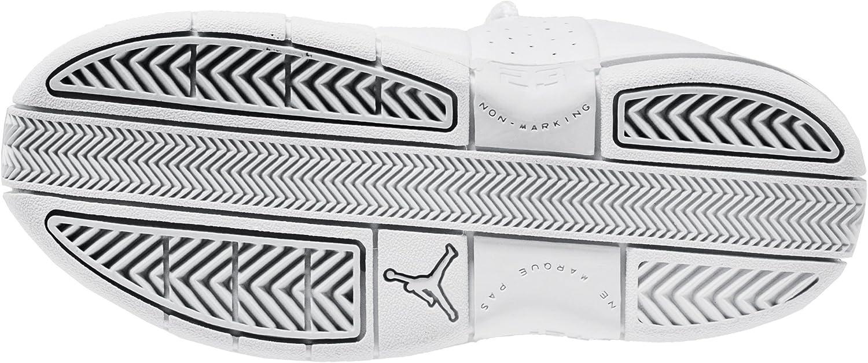 Little Kids Ao2101 2 Y, White//Metallic Silver Pure Nike Jordan Te 2 Low ps