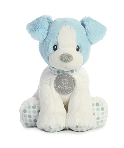 Amazon Com Aurora World Baby My First Puppy Polka Dot Blue Small