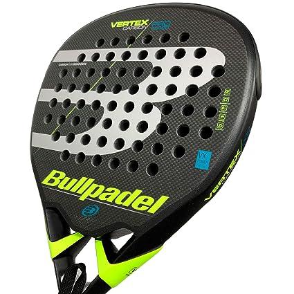 BullPadel Vertex Carbon Pro LTD Rough Yellow