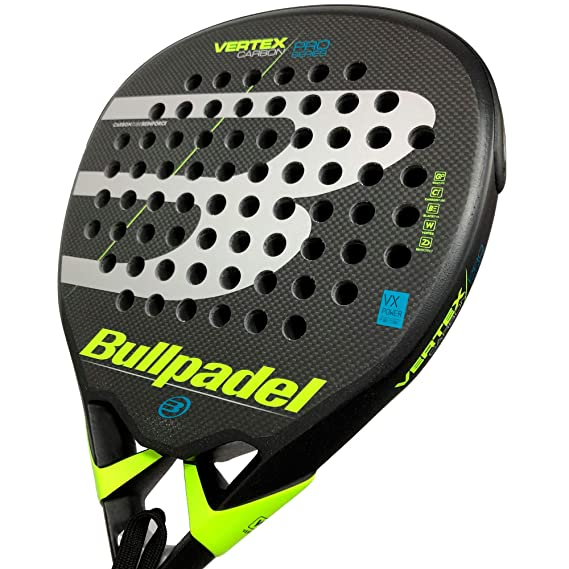 BullPadel Vertex Carbon Pro LTD Rough Yellow: Amazon.es: Deportes ...
