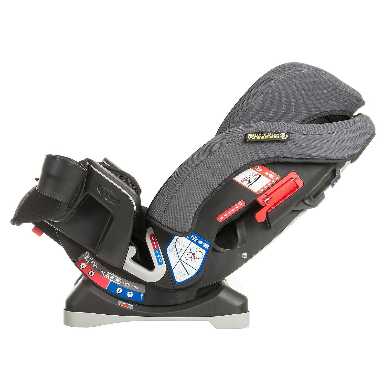 0c82dfa764f Graco Milestone All-in-One Car Seat, Group 0+/1/2/3, Aluminium:  Amazon.co.uk: Baby