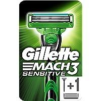 Gillette Mach3 Sensitive Scheermes Voor Mannen + 1 Mesje