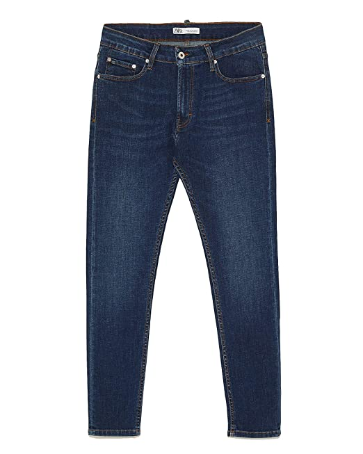 5a6594bd Zara Men's Basic Skinny Jeans 5575/498: Amazon.co.uk: Clothing