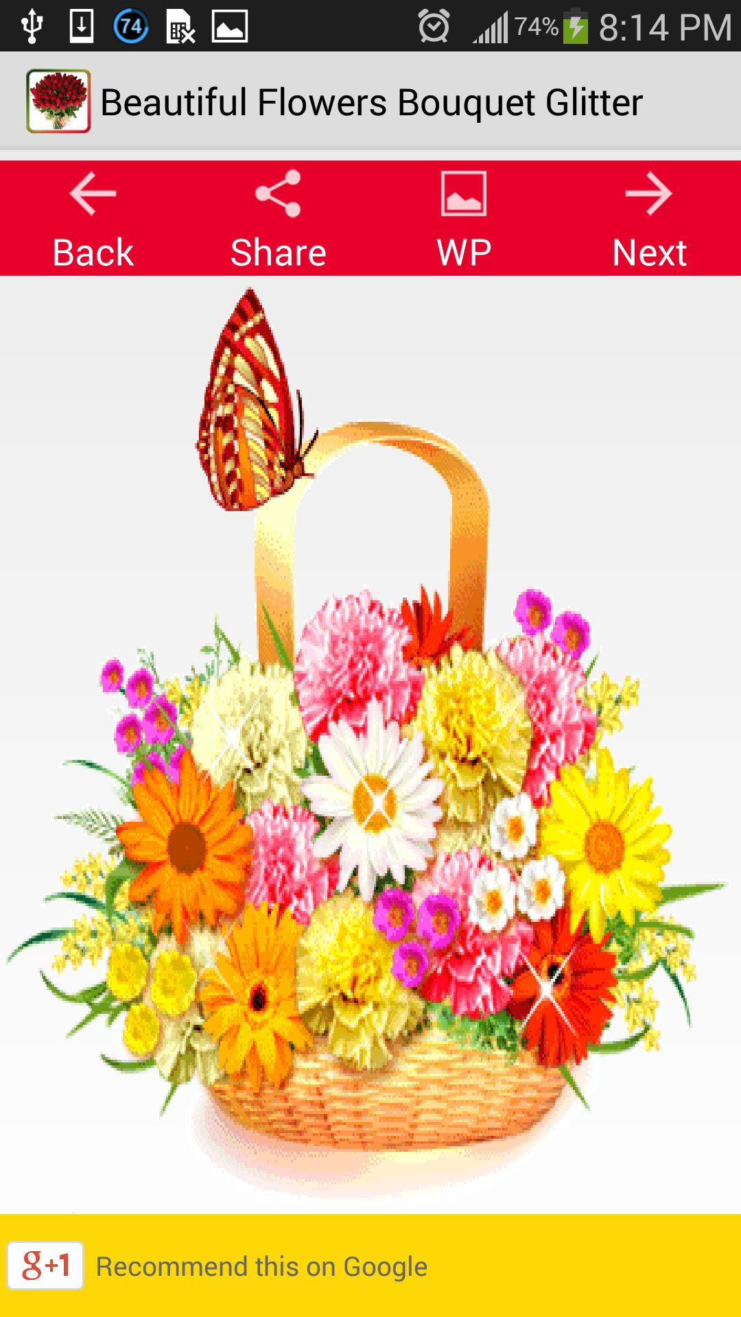 Amazon Beautiful Flowers Bouquet Glitter Appstore For Android