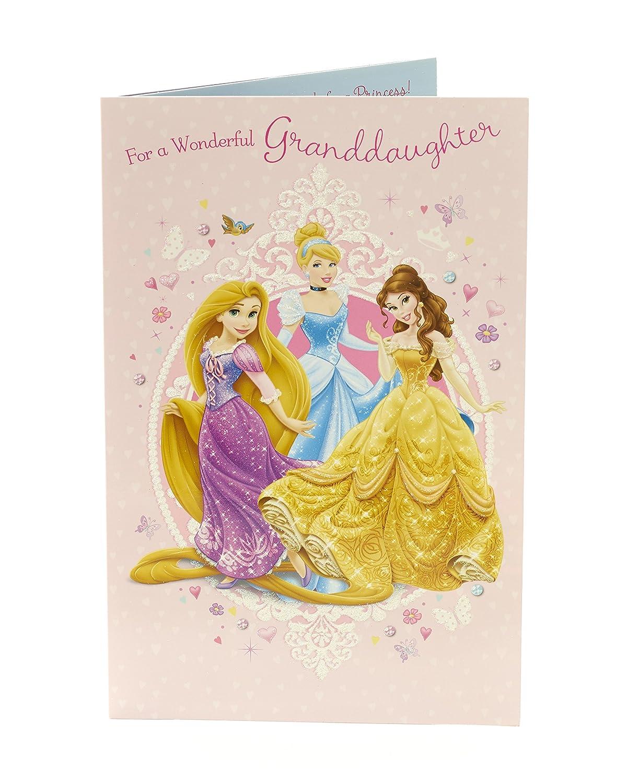 Amazon Shop Inc Disney Princess Birthday Card