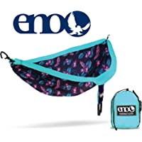 Eagles Nest Outfitters ENO DoubleNest Print Portable Hammock for Two