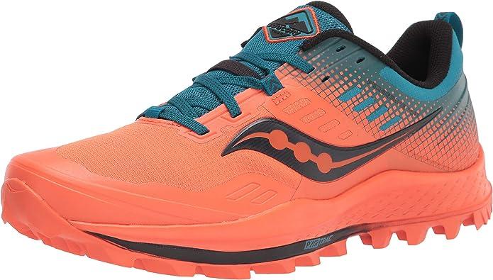 Saucony Peregrine 10 ST Zapatillas para Correr sobre Camino de Tierra o Montaon Soporte Neutral para Hombre Naranja: Amazon.es: Zapatos y complementos