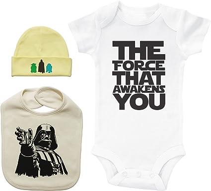 Conjunto de Mono y Gorro de Star Wars para bebé