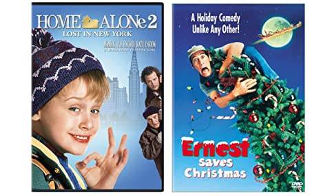 Ernest Saves Christmas Elves.Amazon Com Ernest Saves Christmas Home Alone 2 2 Dvd