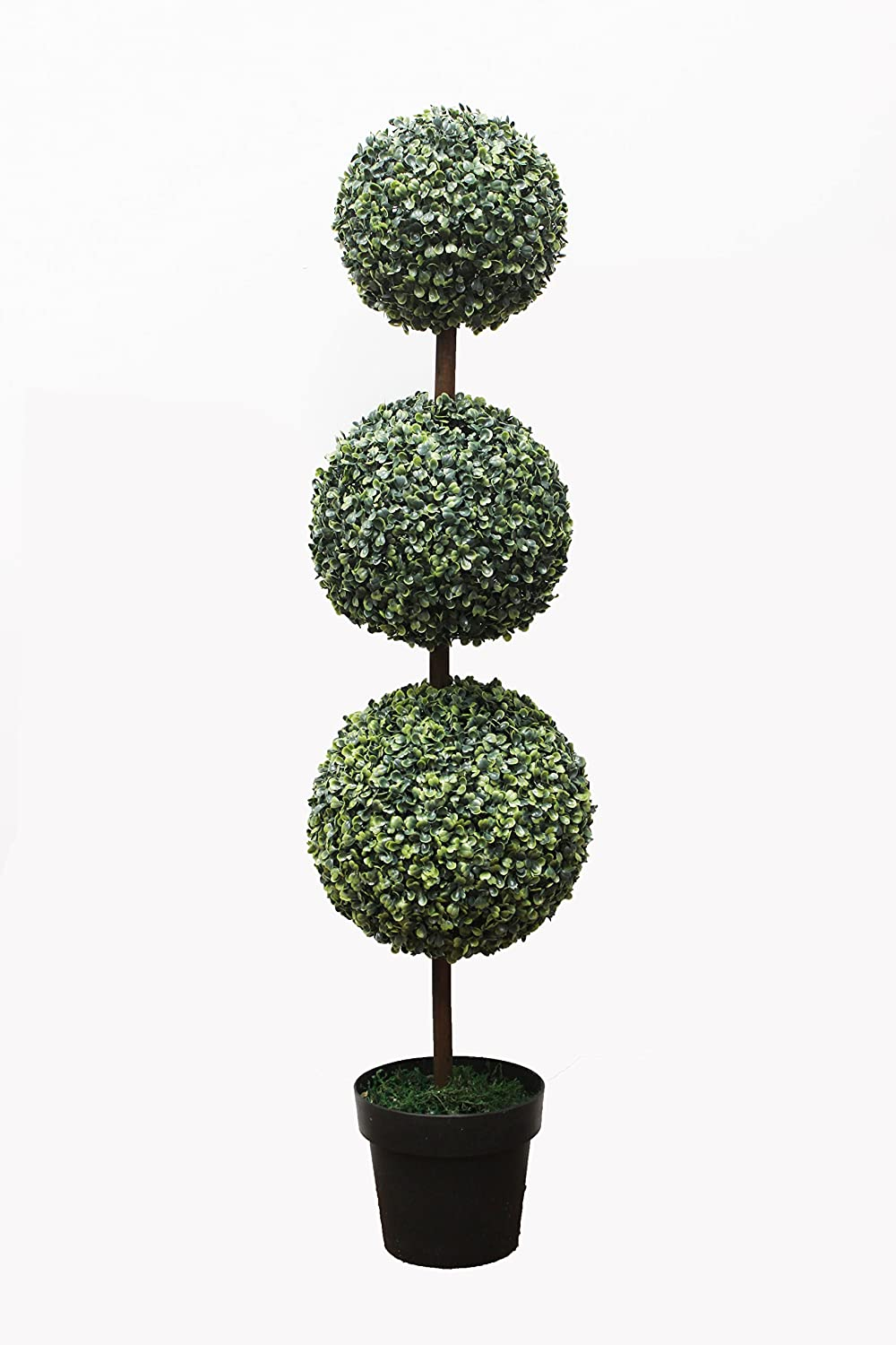 2 X Artificial Trees 3ft Topiary Ball trees Topiary trees