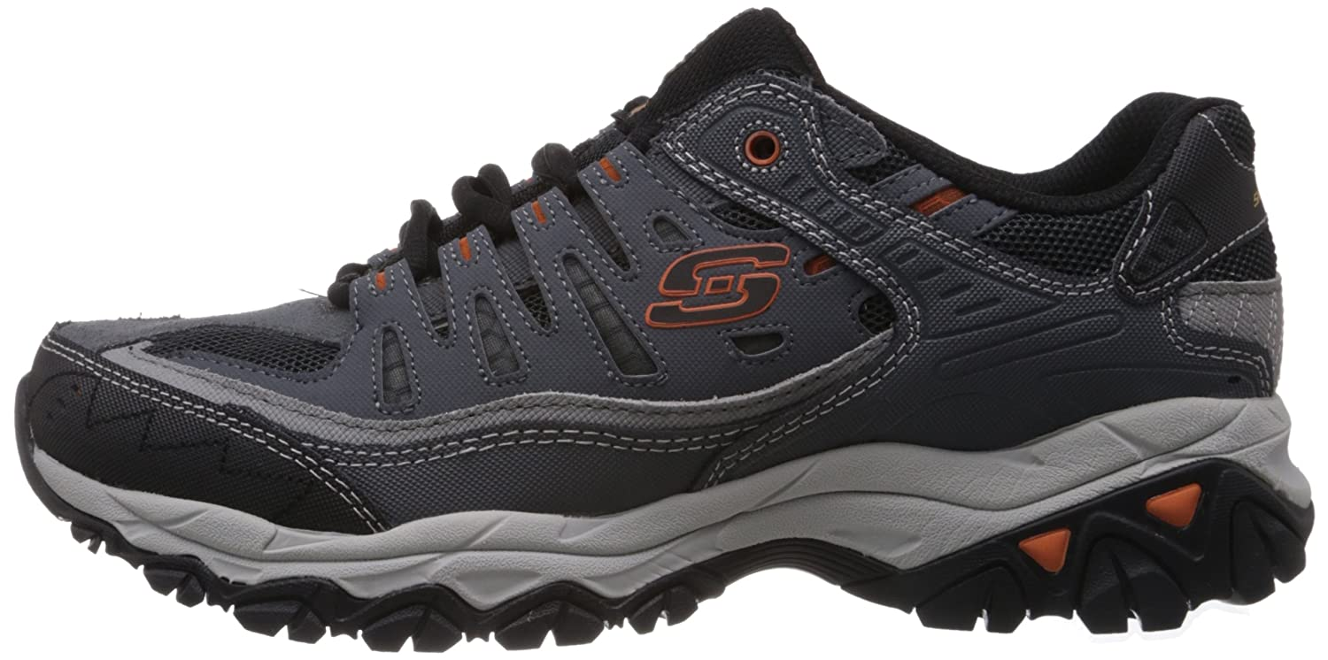 Skechers-Afterburn-Memory-Foam-M-Fit-Men-039-s-Sport-After-Burn-Sneakers-Shoes thumbnail 40