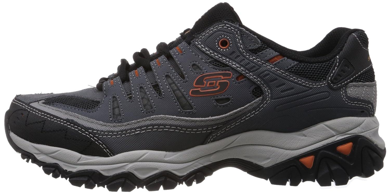 Skechers-Afterburn-Memory-Foam-M-fit-Men-039-s-Sport-After-Burn-Baskets-Chaussures miniature 40