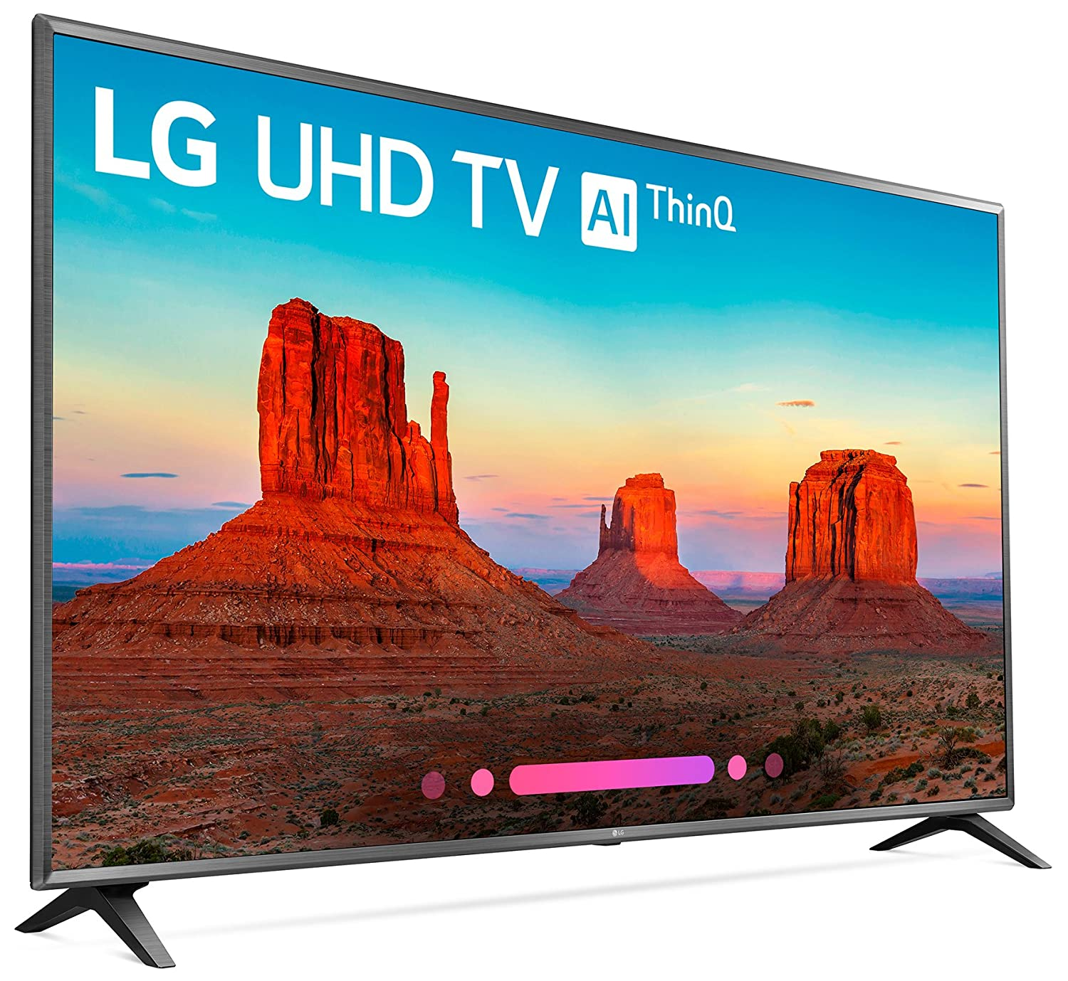 ce8863919 Amazon.com  LG Electronics 75UK6570PUB 75-Inch 4K Ultra HD Smart LED TV  (2018 Model)  Electronics