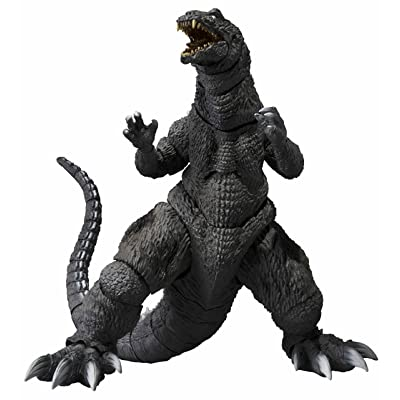 "TAMASHII NATIONS Bandai S.H. MonsterArts Godzilla 2001"" Action Figure: Toys & Games"