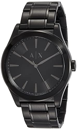 3e999b5f2c0 Buy Armani Exchange Analog Black Dial Men s Watch - AX2322 Online at Low  Prices in India - Amazon.in