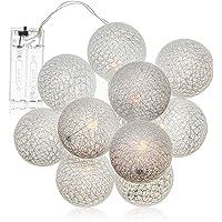 com-four® LED String Light Ball - Iluminación