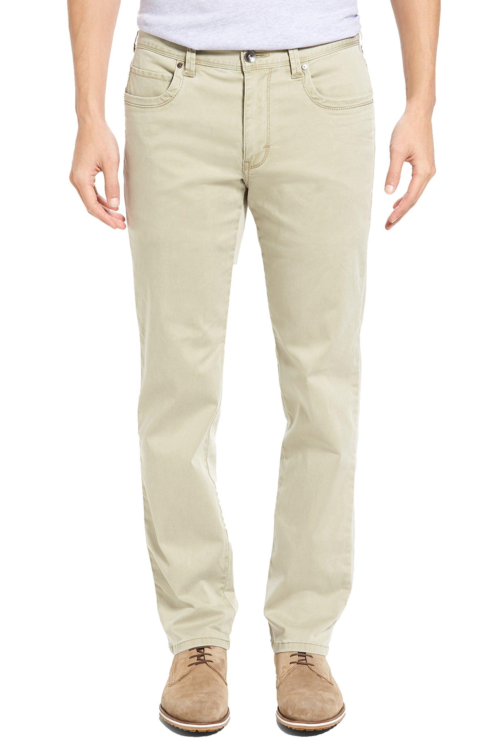 Tommy Bahama Men's Big & Tall Boracay Pants (44W x 32L, Khaki)