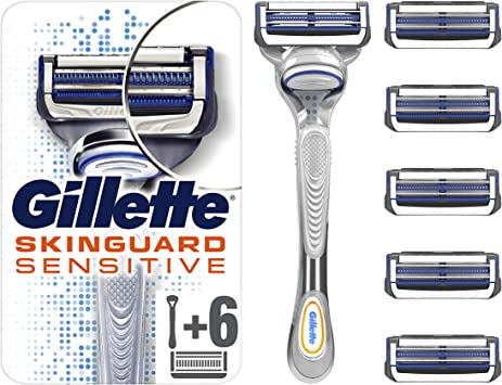 Gillette Fusion5 Maquinilla de afeitar: Amazon.es: Salud y cuidado ...