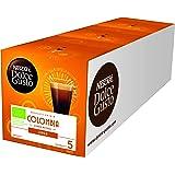 Nescafé Dolce Gusto Lungo哥伦比亚咖啡,36 枚咖啡胶囊(高地阿拉比卡咖啡豆,细腻泡沫,来自原产地,气味密封胶囊)3盒装 (3 x 12 胶囊)
