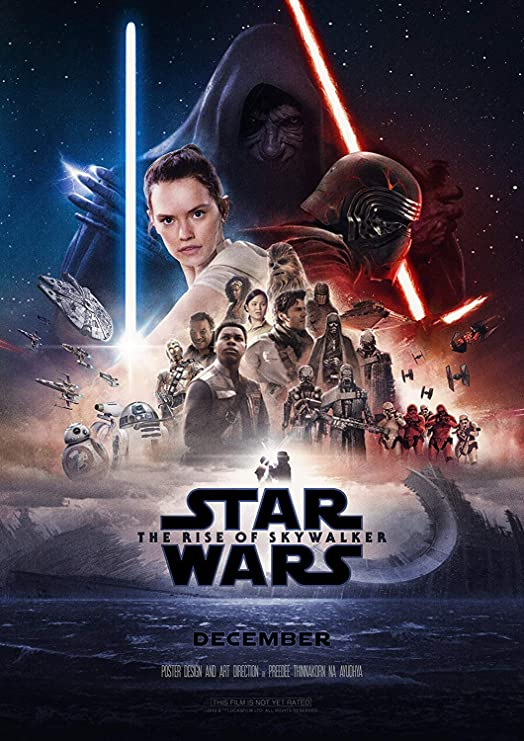 Amazon Com Star Wars The Rise Of Skywalker Poster Movie 2019 Wall Decor Art Print 24x36 Inch Ready To Paste Without Frame Posters Prints