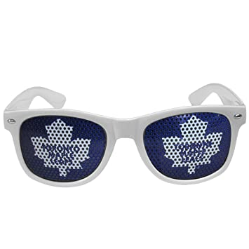 7525fd78142e Siskiyou Sports HWGD85W NHL Toronto Maple Leafs Game Day Shades, White,  Sunglasses - Amazon Canada