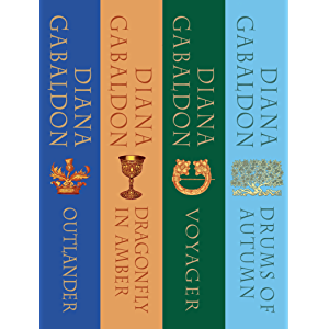 The Outlander Series Bundle: Books 1, 2, 3, and 4: Outlander, Dragonfly in Amber, Voyager, Drums of Autumn (Outlander…