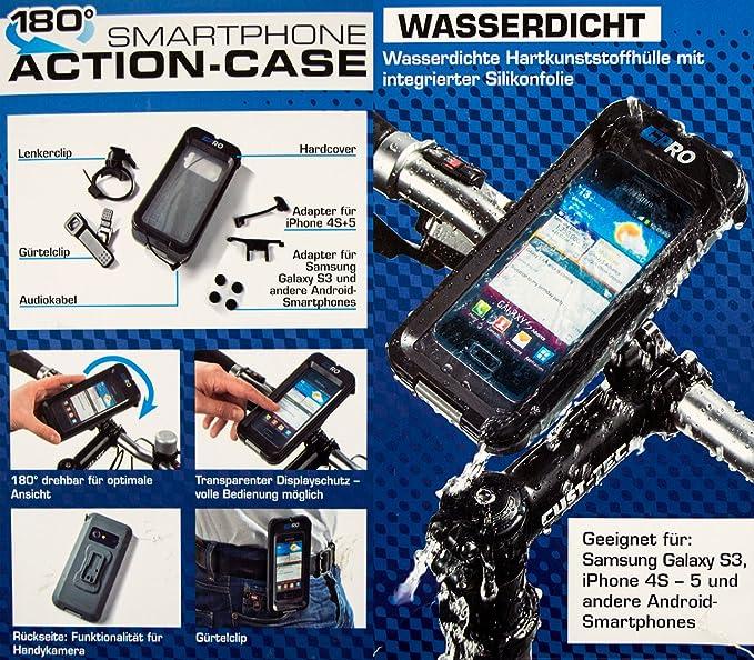 180° smartphone actioncase - soporte móvil de tapa dura ...