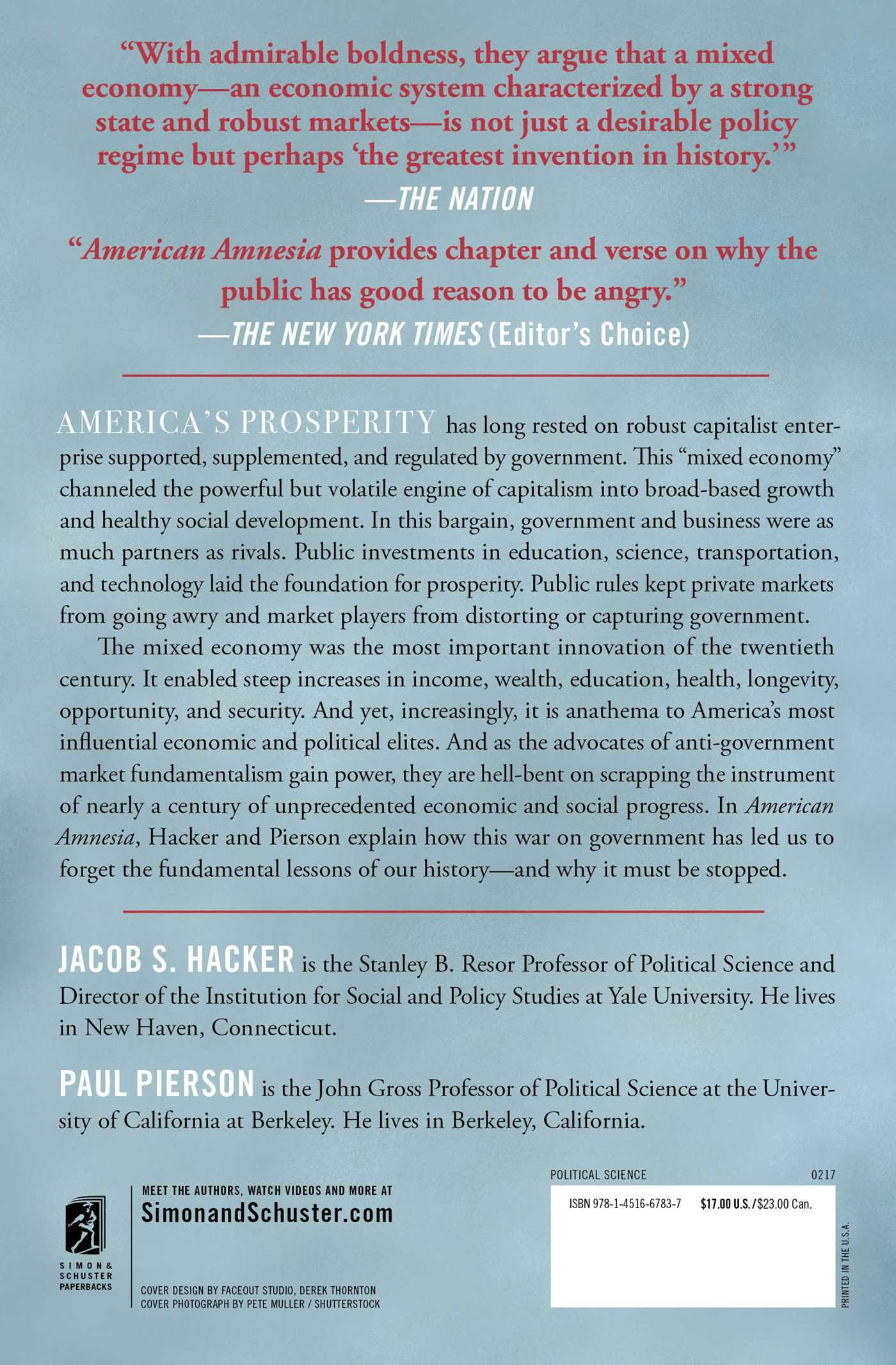 American amnesia how the war on government led us to forget what american amnesia how the war on government led us to forget what made america prosper jacob s hacker paul pierson 9781451667837 amazon books fandeluxe Images