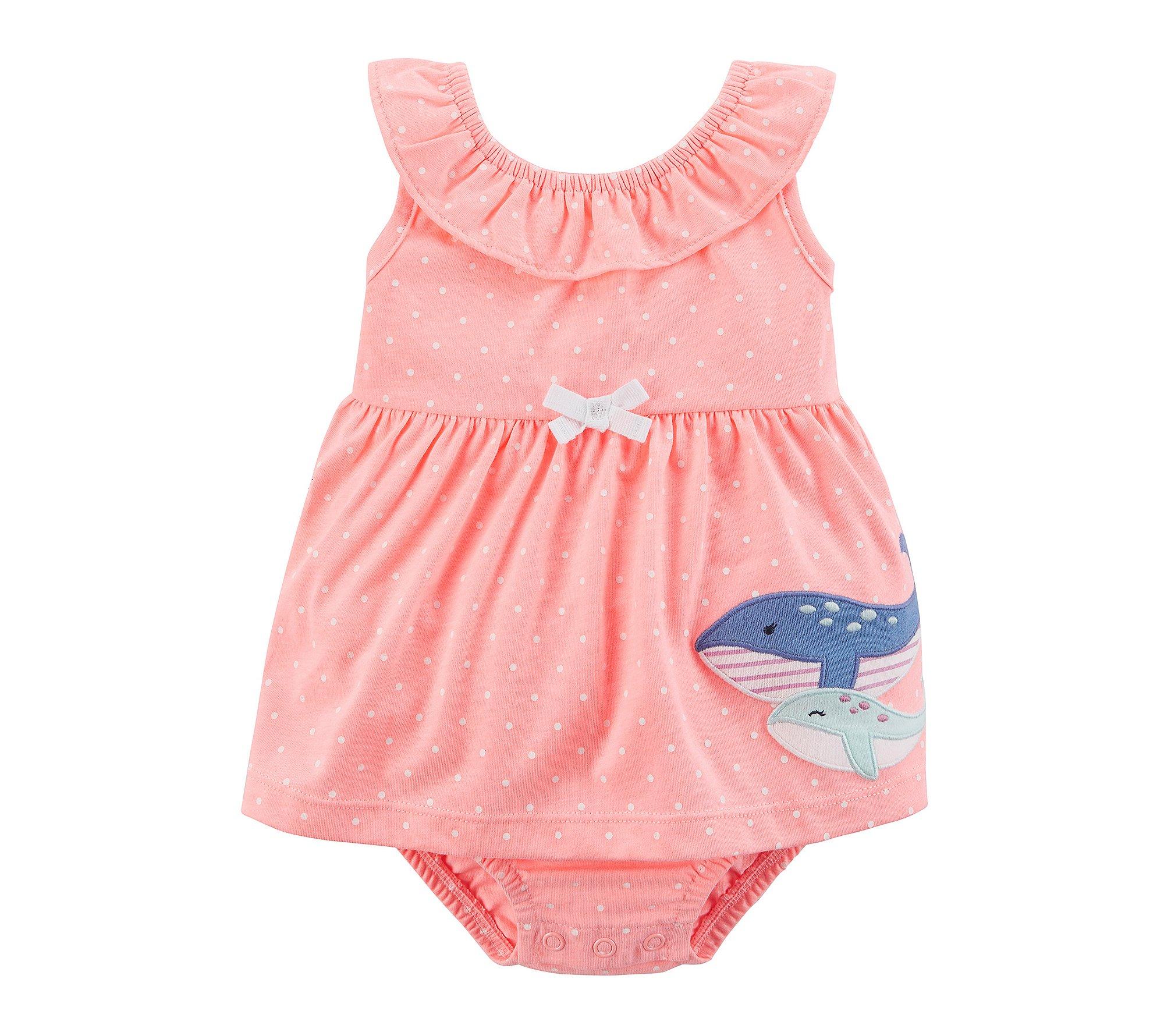 Carter's Baby Girls' 1 Piece Sunsuit 6 Months
