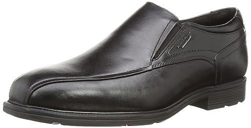 Rockport Insider Detail Bike Toe - Mocasines para Hombre Negro Negro 47,5: Amazon.es: Zapatos y complementos
