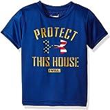 Under Armour Boys' Little Ua Protect This House Short Sleeve Tee