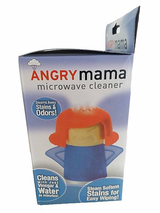 Amazon.com: Limpiador de microondas, Angry Mama Microondas ...