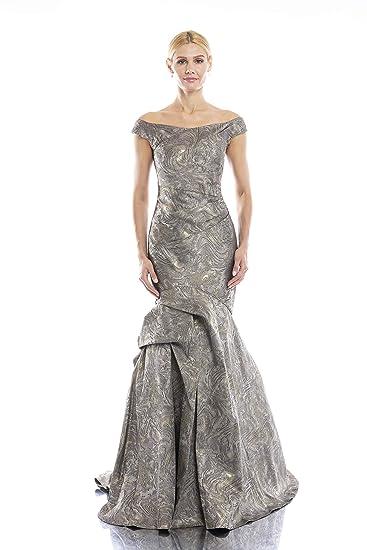 adda46eb4f55 Terani Couture Off-Shoulder Mermaid Long Dress at Amazon Women's Clothing  store: