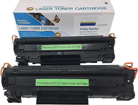 2 black ink toner cartridge for Canon137 ImageCLASS MF244dw cannon laser Printer