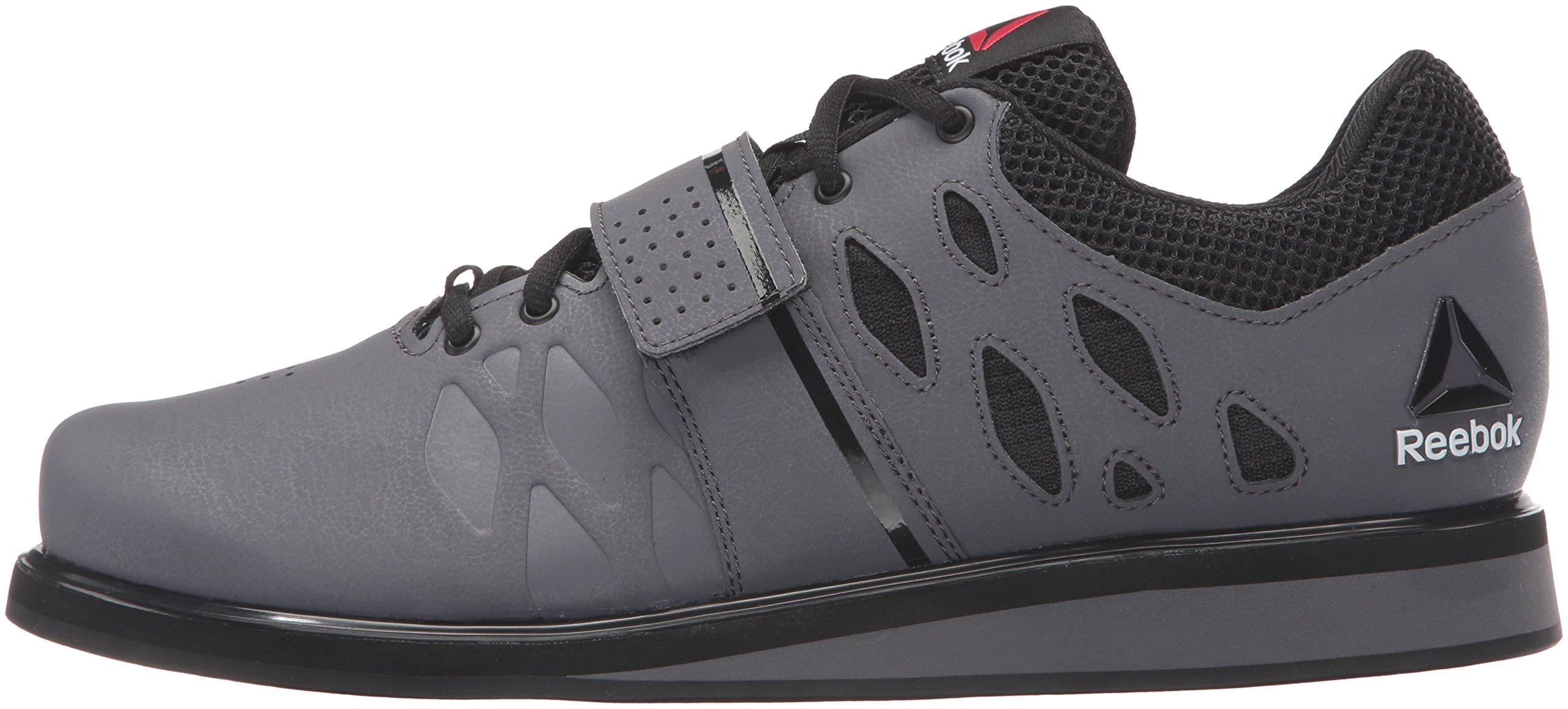 Reebok Men's Lifter Pr Cross-Trainer Shoe, Ash Grey/Black/White, 7 M US by Reebok (Image #5)