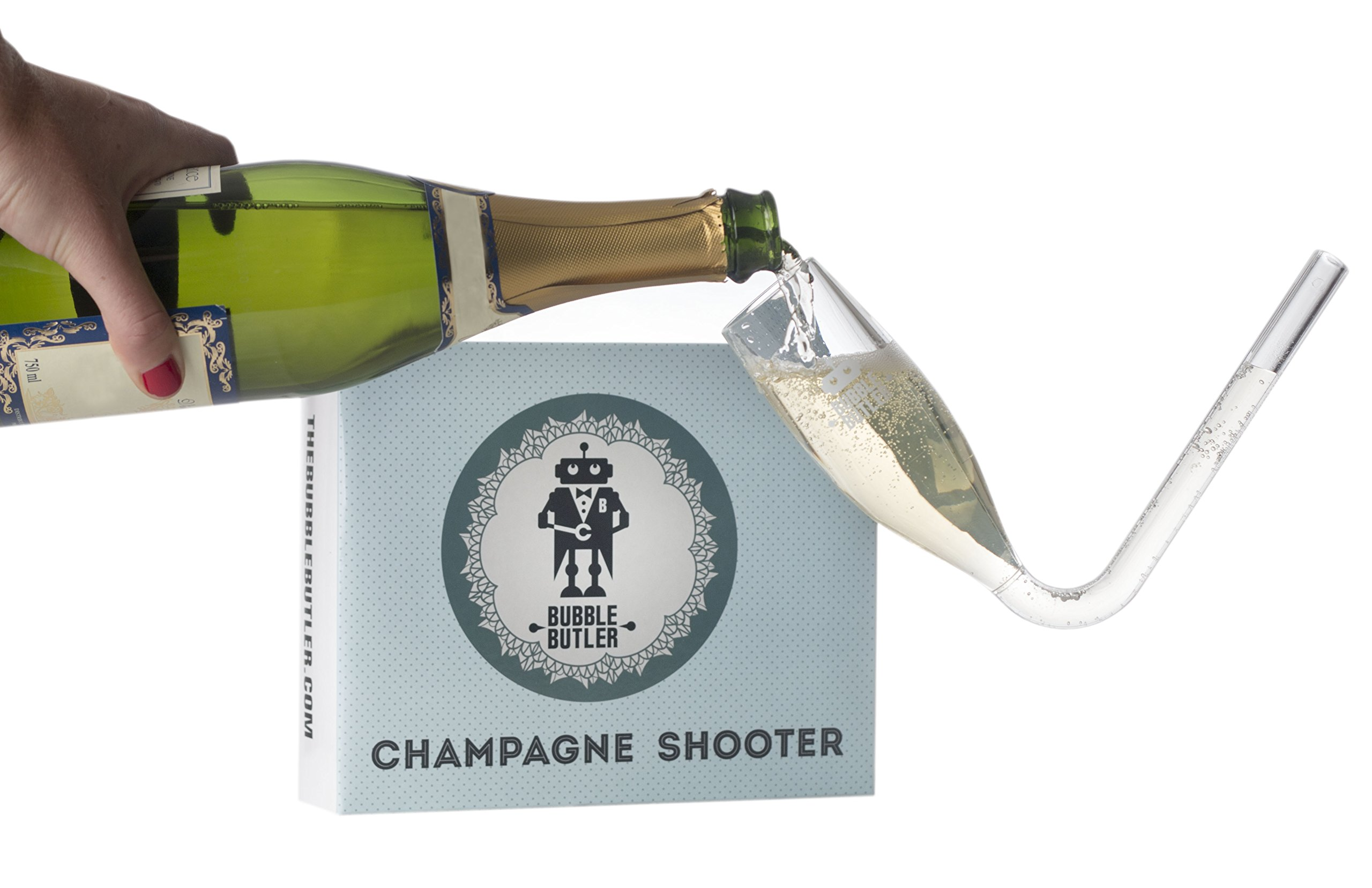Champagne Flutes, Champagne Shooters, Guzzler Glasses – Champagne Bong Party, Prosecco Glasses, Bridesmaids Gifts…