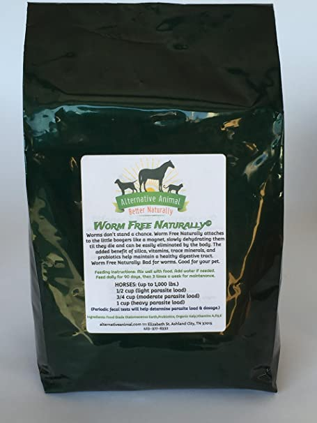 Alternative Animal Worm Free Naturally-Natural Wormer - The Best Natural Ingredients