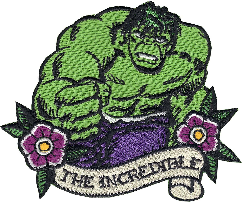 Marvel Avengers Iron Man Thor Hulk Captain America Iron On Sew Patches Motif