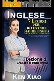 Inglese: 5 Lezioni per diventare madrelingua (2 ore di audio gratis) Pronuncia, Intonazione, Legamenti fonetici, Lezioni Facili per parlare velocemente inglese come un madrelingua Lezione 1