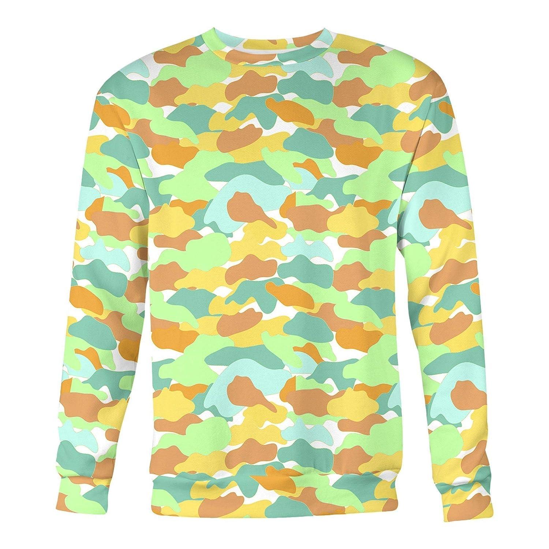 All Over Shirts Camo Watermelon Sweatshirt