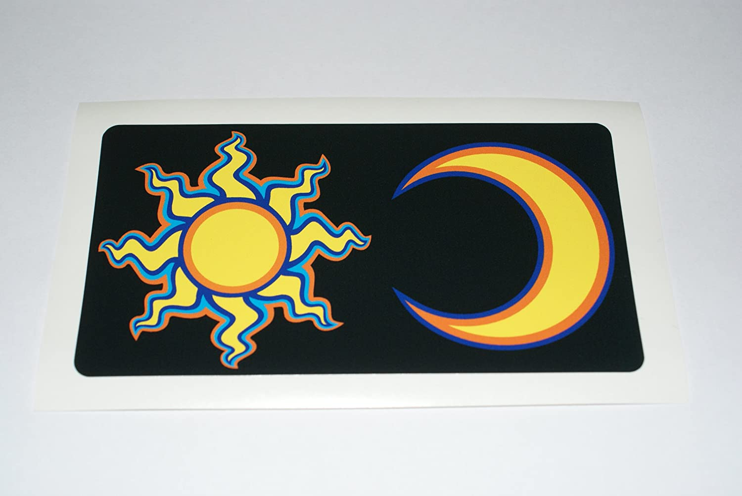 Rapro Graphics Rossi Sun And Moon Decal/Sticker - Black