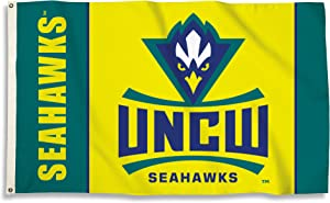 BSI NCAA College North Carolina Wilmington Seahawks 3 X 5 Foot Flag with Grommets