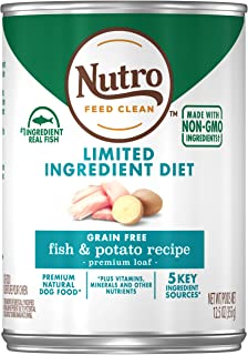 product image for NUTRO Limited Ingredient Diet Adult Natural Wet Dog Food, 12.5oz Can (12 Pack)