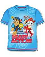 Paw Patrol Children T-Shirt Half Sleeve – Ready For Action – T-Shirt – New Original Product 1002025 Wap