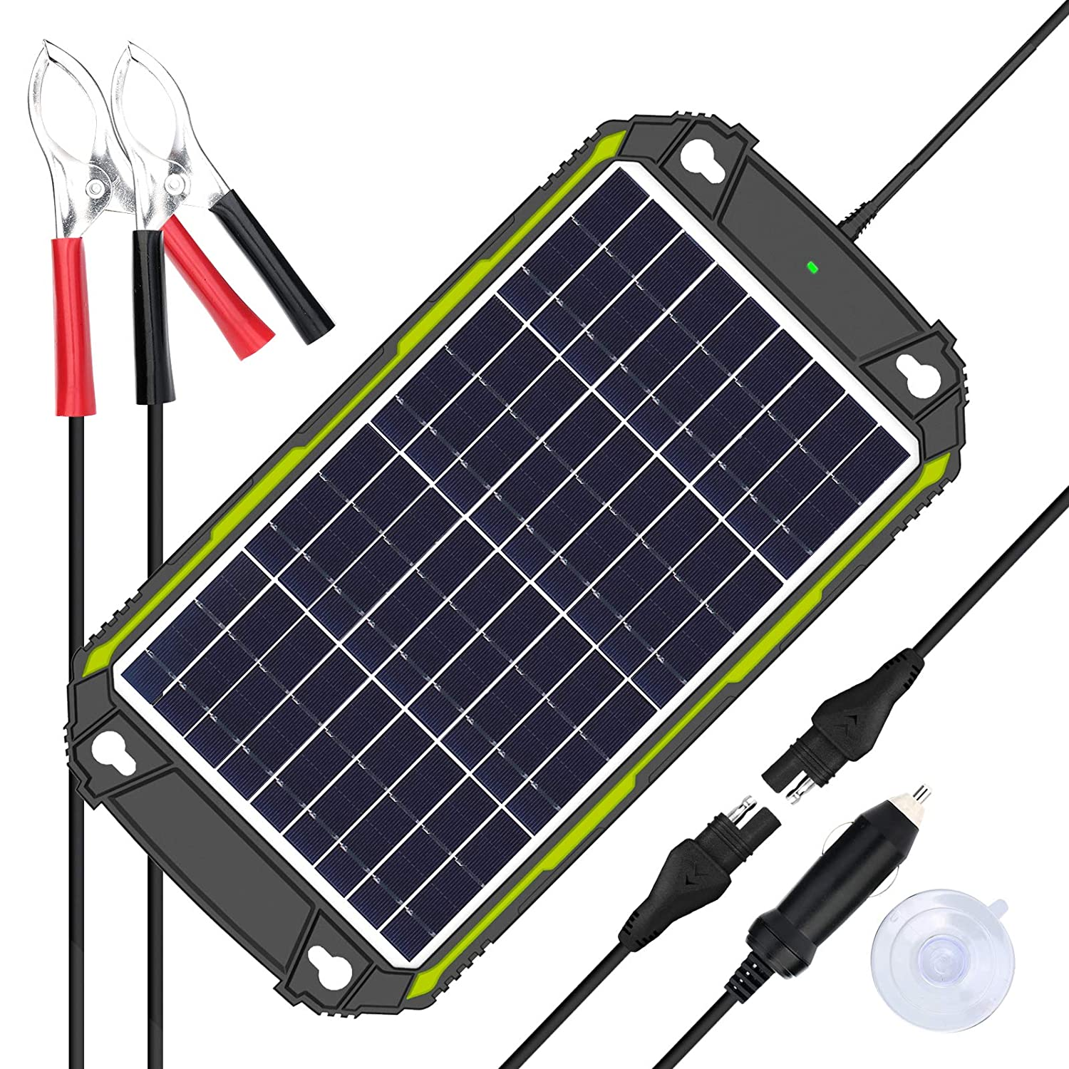 Sun Energise Waterproof 12V 10W Solar Battery Charger