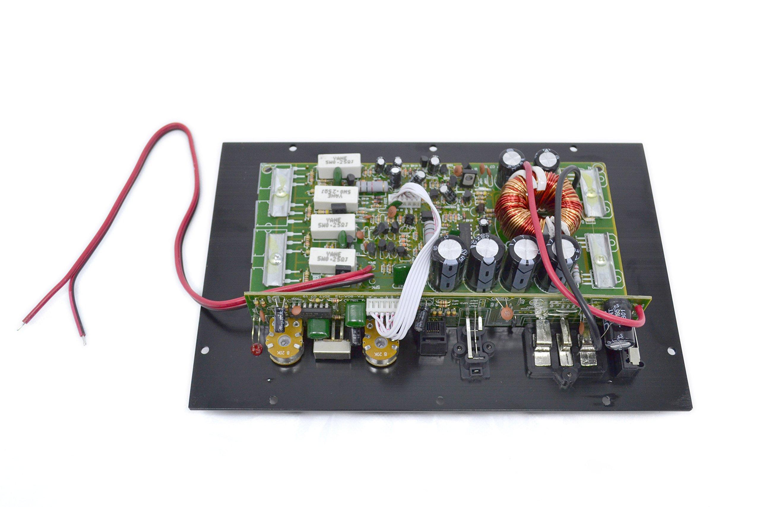 PA-80D Car Amplifie 1000W High Power Tube Amplifier Subwoofer Amplifier by bass audio (Image #6)
