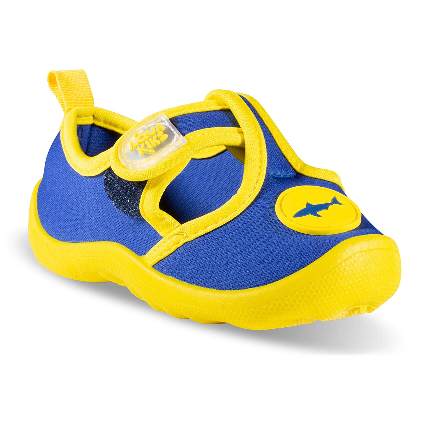 4d4a1a1e116ae Aqua Kiks Boys' Water Shoes - Navy/Yellow, 9 Toddler: Amazon.ca ...