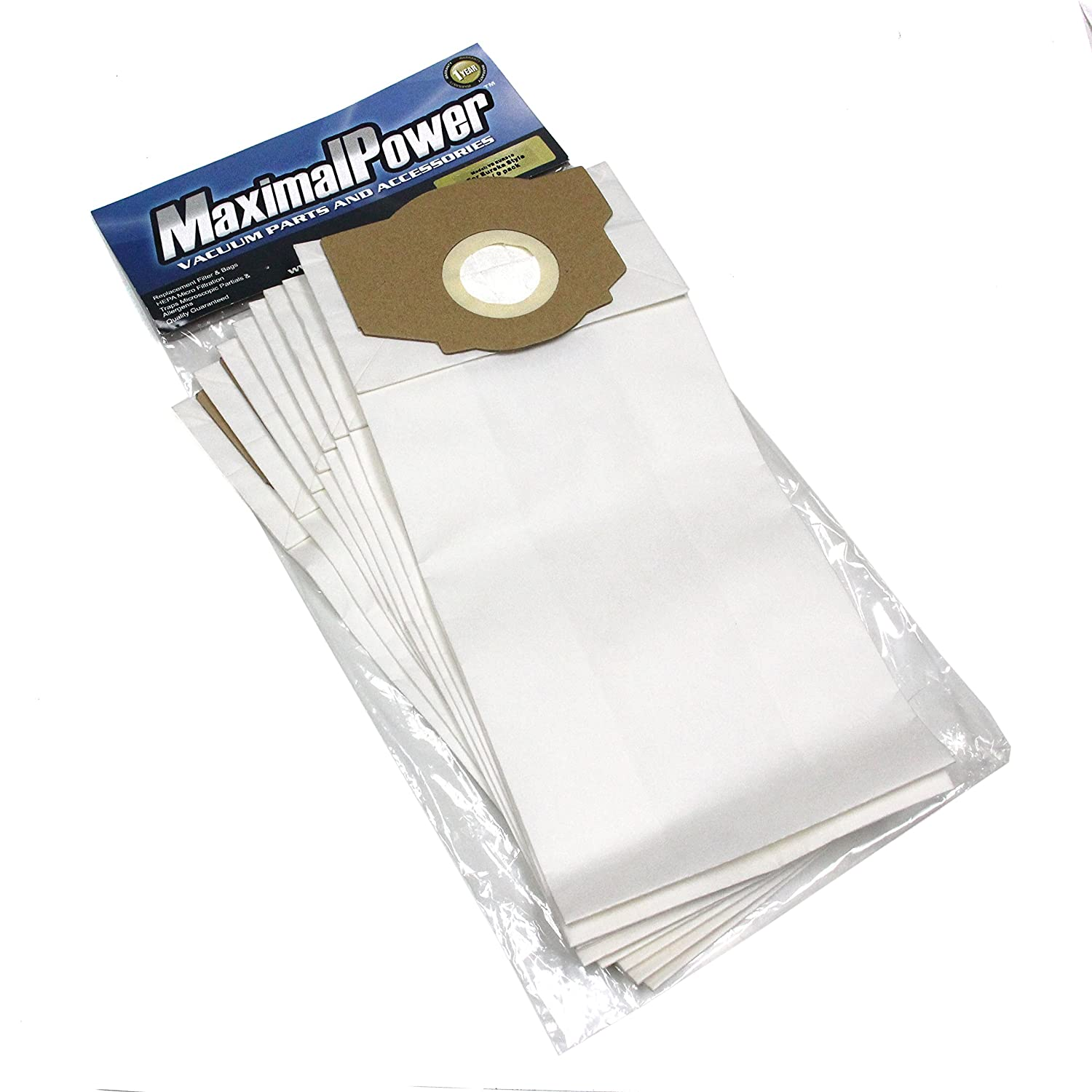 MaximalPower 9 Pack - Vacuum Bags for Eureka Omega, Boss Smart, 61115, 61115-12, A, B