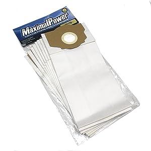 MaximalPower 9 Pack - Vacuum Bags for Eureka Omega, Boss Smart, 61115, 61115-12, A, B