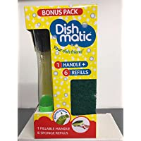 Dishmatic Bonus Pack 1rellenables asa y 6verde Esponja